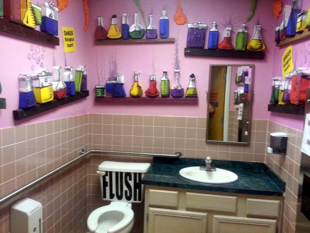 The Famed Scientific Lavatory of Kids Town!